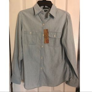 *NEW WITH TAGS* Ralph Lauren denim shirt!